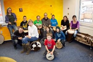 Integratives Projekt - Trommelgruppe
